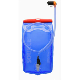 SOURCE Widepac Hydration Bladder 1,5l, transparent/blue